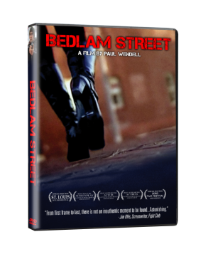 Bedlam DVD Mockup